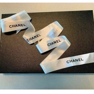 Authentic Chanel Satin Ribbon- Approx. 6 Ft Long